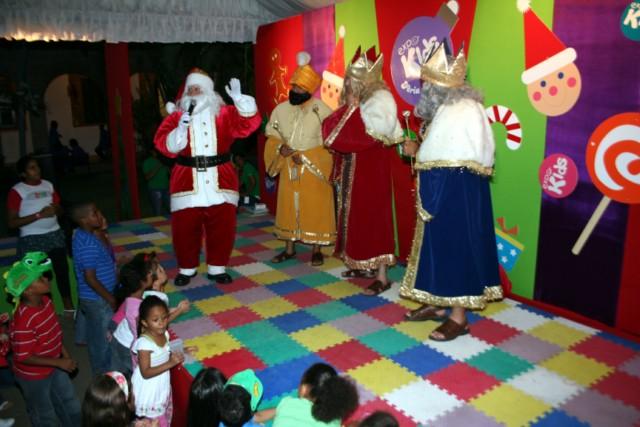 Expo Kids Feria de Navidad con Santa y los reyes magos